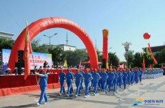 山西忻州繁峙县第七届老年人体育健身文艺表演大赛精彩纷呈