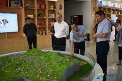国家应急管理部考察团在山西广灵县电商中心考察指导