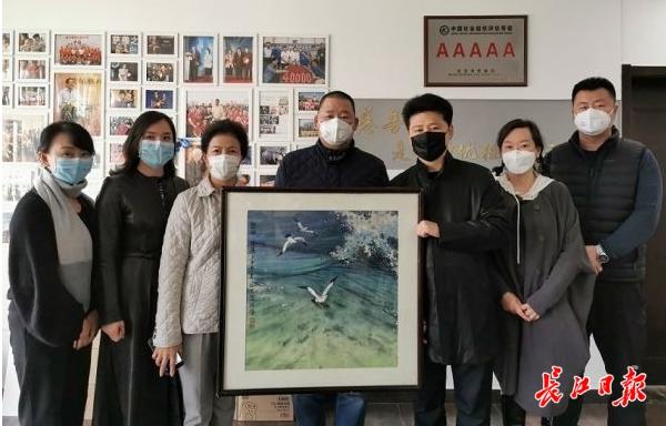 开国大将肖劲光之女肖凯捐画募集100万元 助力武汉战疫