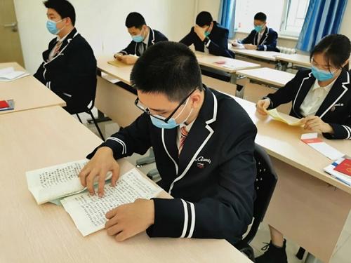 """多地高三学子今日开学复课 开学第一课""""翻开的不仅是书本"""""""