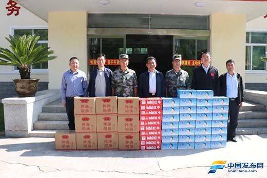 忻州市、区领导慰问驻景区部队官兵