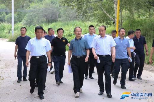 山西忻州:郑连生在五台山景区调研