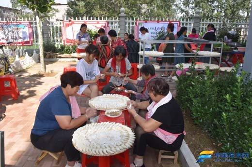 河南方城县二郎庙镇:一碗饺子情 浓浓敬老心