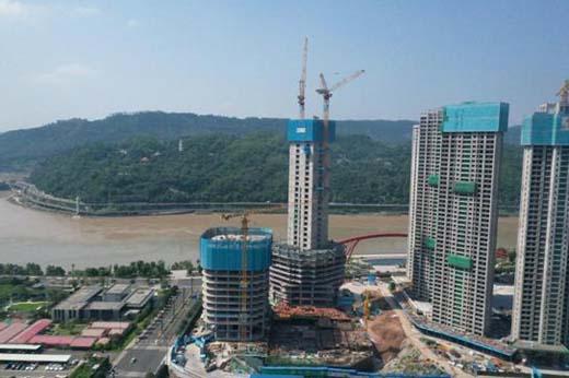 宜宾华侨城项目完成地下施工 宜宾城市核心区建设加速推进