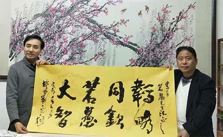 老墨拙笔文人画——《刘若愚诗书画》序