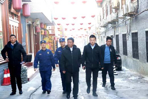 王黎明督查五台山景区安全生产工作