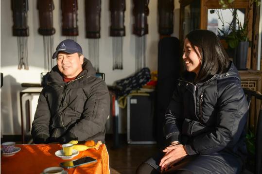汉墨再菲——兰干武、黄菲菲书画小品展