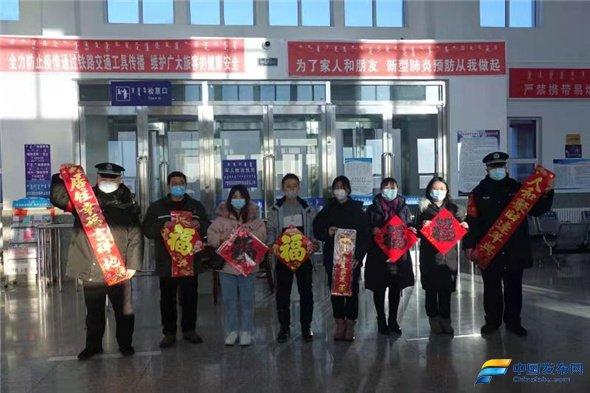 内蒙古苏尼特左旗车站公安派出所积极做好春运安保工作