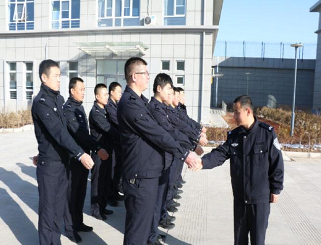 榆阳区看守所开展春季实战大练兵活动