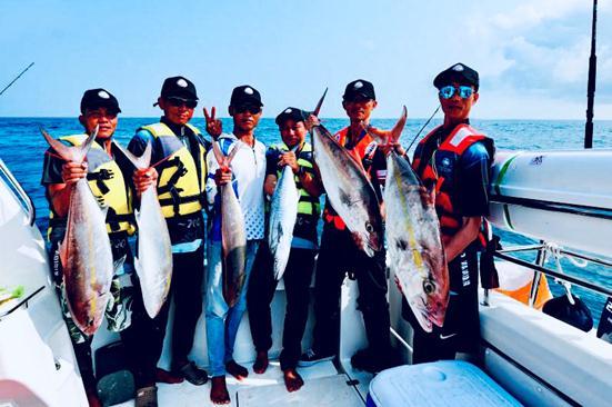 环海南岛海钓大赛在海南万宁举办
