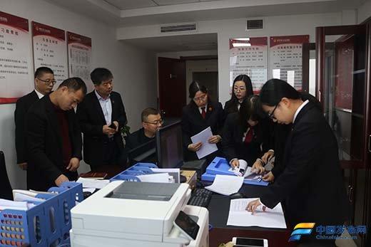 陕西省周至县政法队伍教育整顿复评工作组到法院开展学习教育环节复评工作