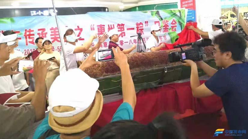 """端午前夕,""""惠州千斤粽""""创始人张育声慰问抗疫代表"""
