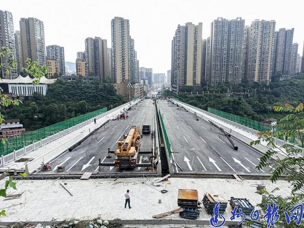 双向8车道,时速60千米/小时!雷音铺大桥最新施工进展来了.