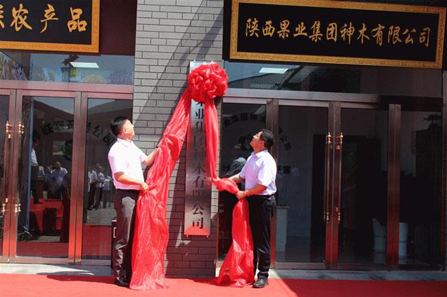 陕西果业集团神木有限公司挂牌成立