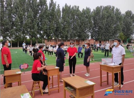 邯郸市丛台区滏阳学校组织开展复学复课应急演练活动