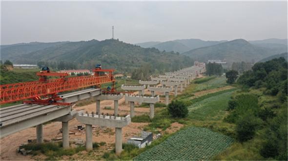 昔榆高速昔阳段工程建设进展顺利