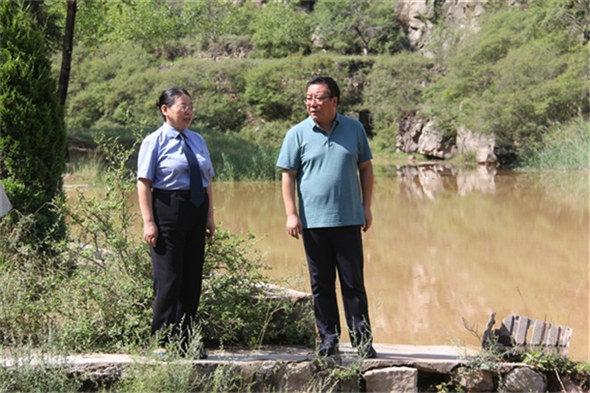 """""""河湖长+检察长""""巡河 全力保护太谷水生态"""