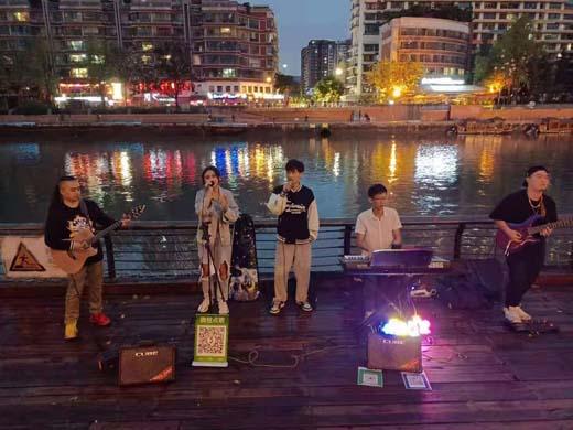 这个国庆在锦江 为你开启了一场与民同乐的街头音乐盛宴