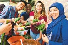 留学生体验端午节