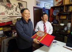 【若愚来访】台湾同胞大陆寻祖 感恩周志伟先生鼎力相助