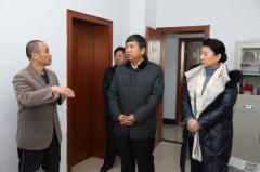 """郭宏调研平陆县""""光伏产业扶贫""""项目进展情况"""