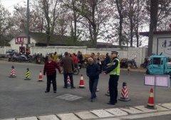 山西平陆:平陆大队四措并举筑牢校园周边道路交通安全防线