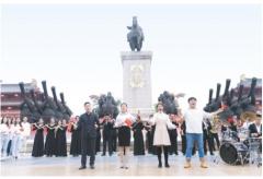 """陕西""""我爱你中国""""系列快闪""""陕亮""""中国在西安举行"""