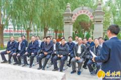 """榆林市委常委班子举行""""寻初心之行·重走转战陕北路""""主题党日活动"""