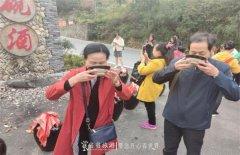 品甜柿、赏美景,近千名游客喜笑颜开