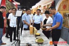 扬州市江都区党政代表团到子洲县考察调研