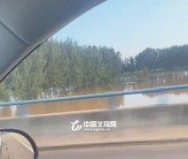 义乌工商学院在读创业学生千里回乡 数车物资支援河南灾区