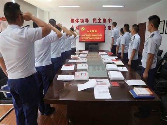 """湖北咸宁消防开展""""学党史、强信念、跟党走""""主题系列活动"""